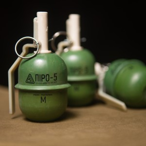 """Pyro-5"" Frag hand grenade"